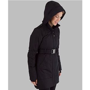 LuLuLemon Black Pinnacle Parka Jacket Size 6 (S)